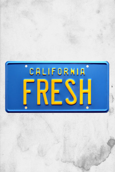 fresh prince license plate taxi will smith