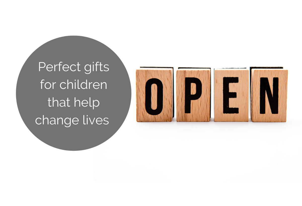 Perfect gifts for children and gift ideas for kids that help change lives