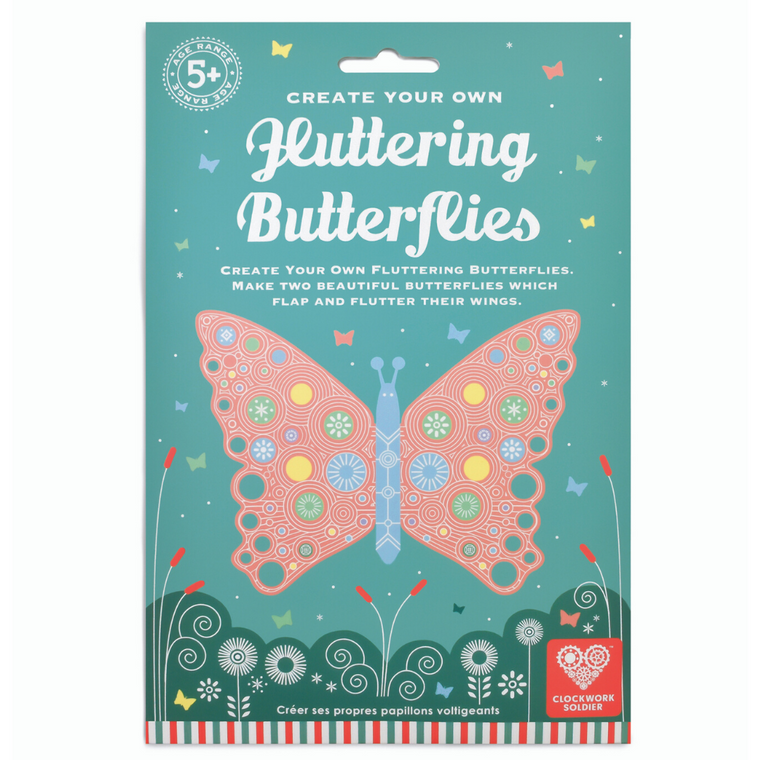 Make your own fluttering butterfly