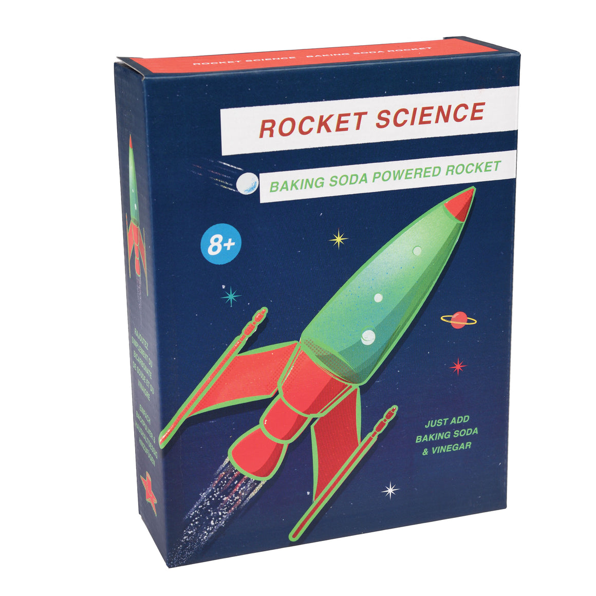Make Your Own Baking Soda Space Rocket
