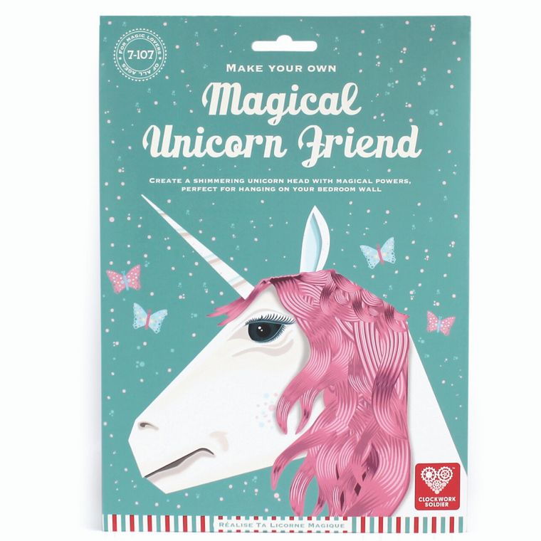 Create a magical unicorn friend