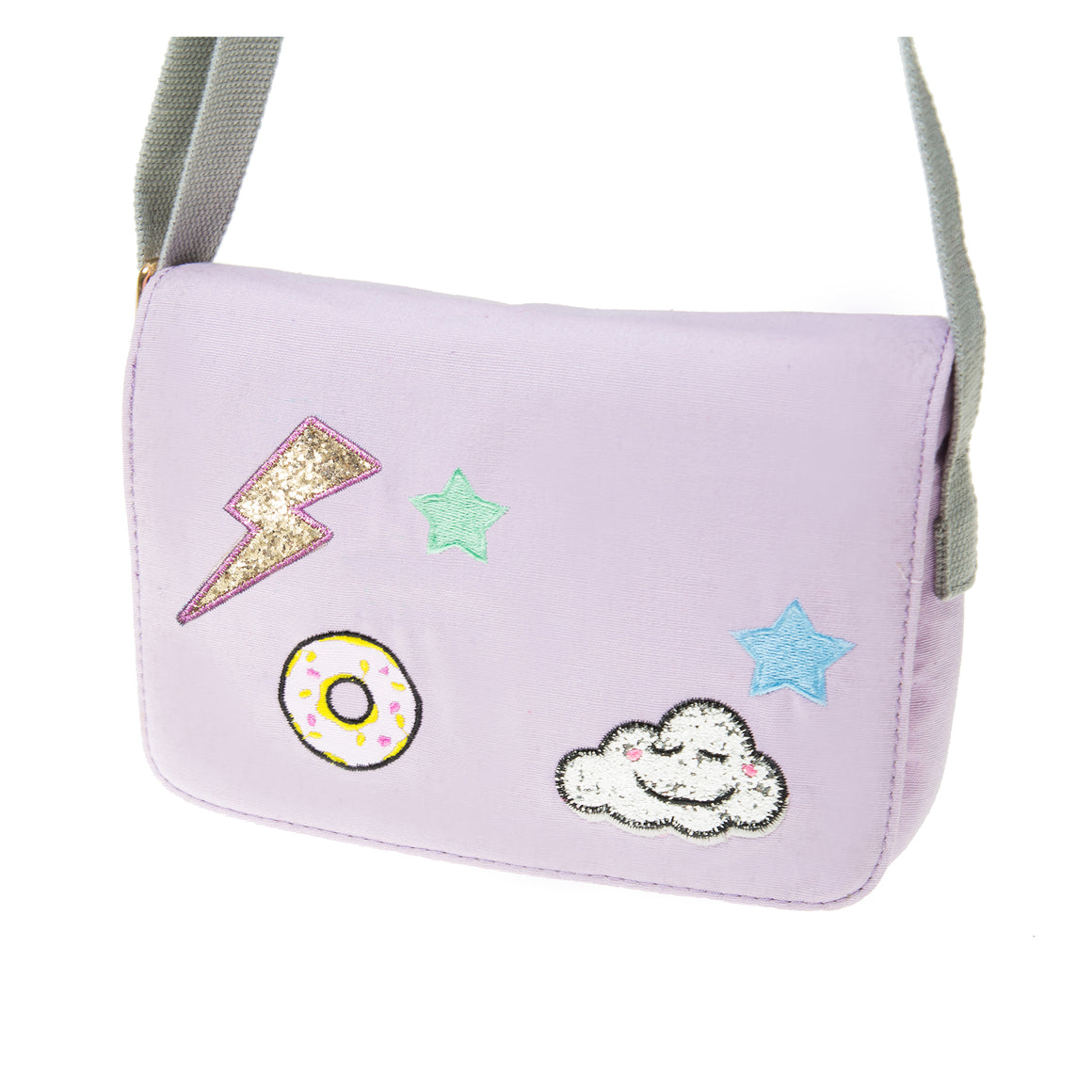 Pop Patch Bag - Lilac
