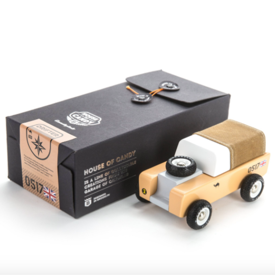 Candylab Toys - Drifter Sahara - Brown Canvas