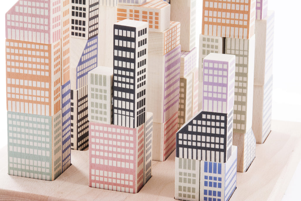 Bajo Toys Manhattan Building Blocks