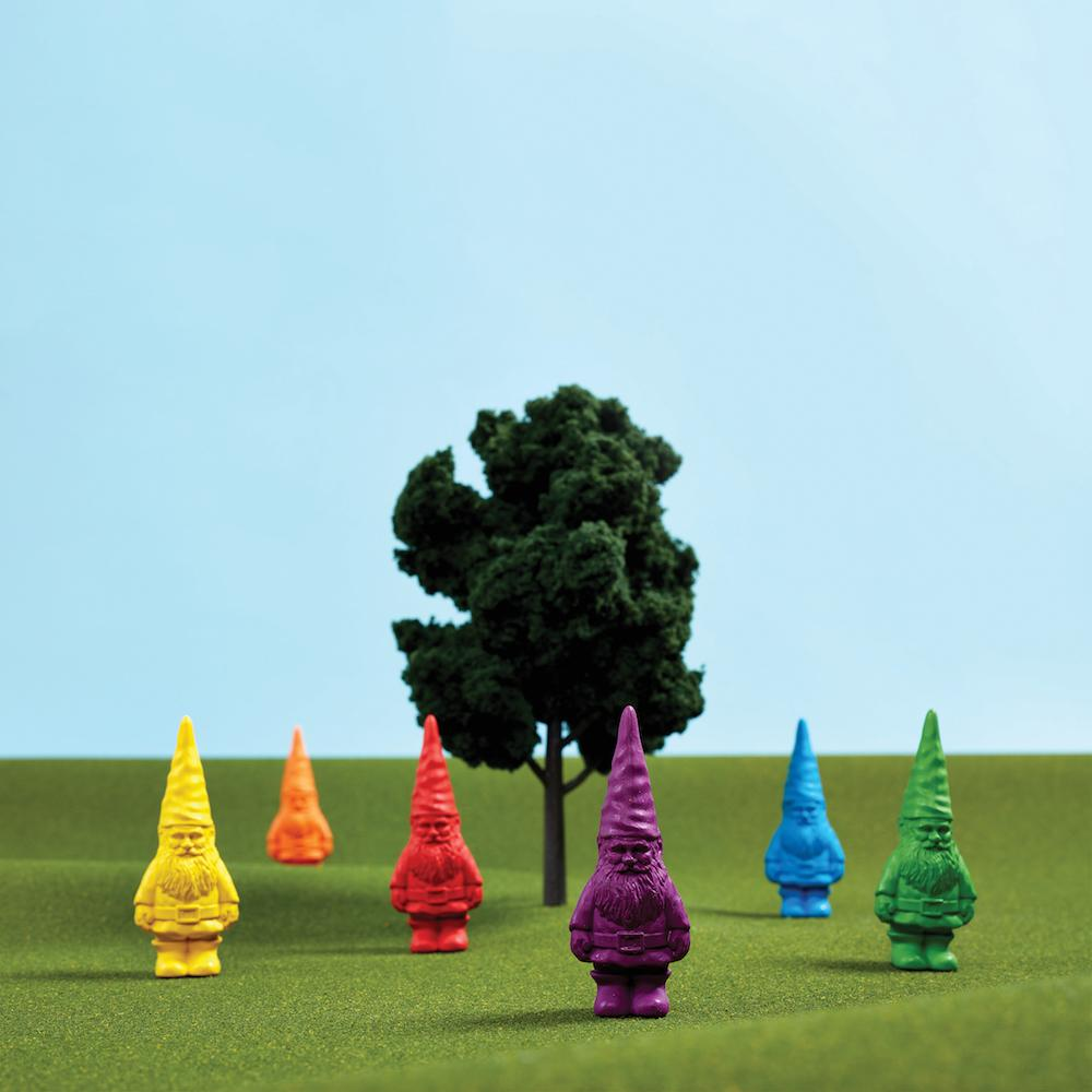 Gnome crayons