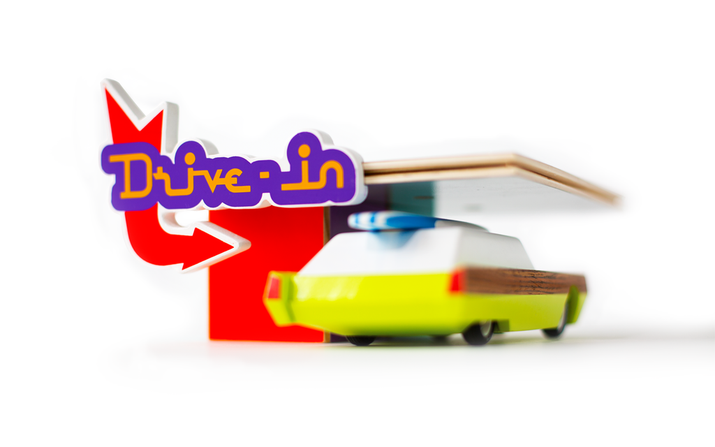 Candylab Toys - Drive-In - Playset