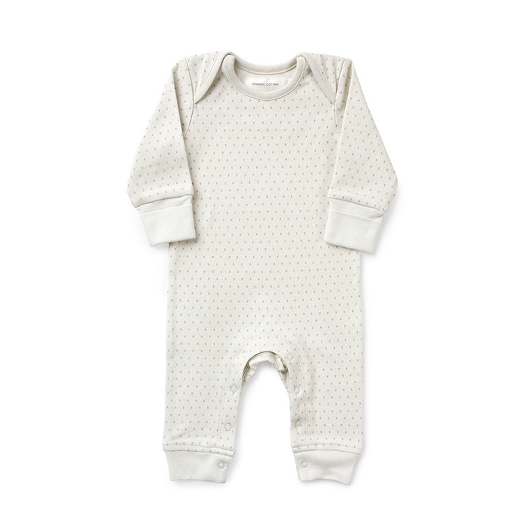 From Babies With Love - French Grey Little Kisses baby grow