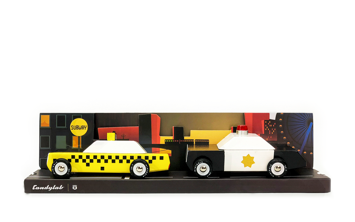 Candylab Toys - Junior - City Scape Set
