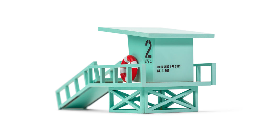 Candylab Toys - Malibu Lifeguard Tower