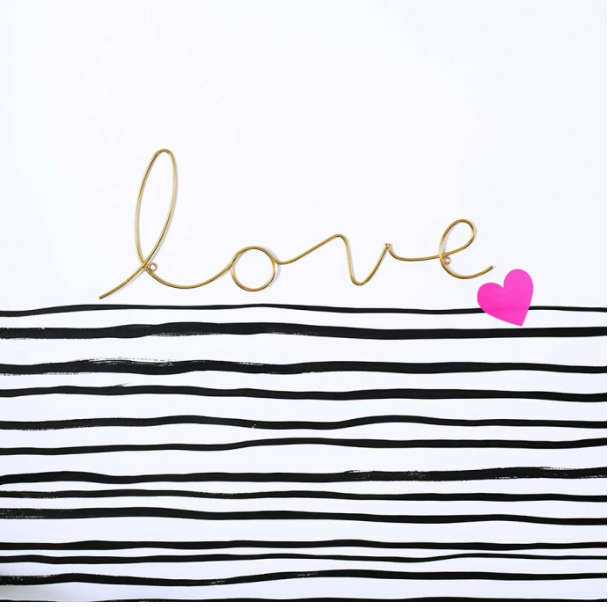 Love - Word Art
