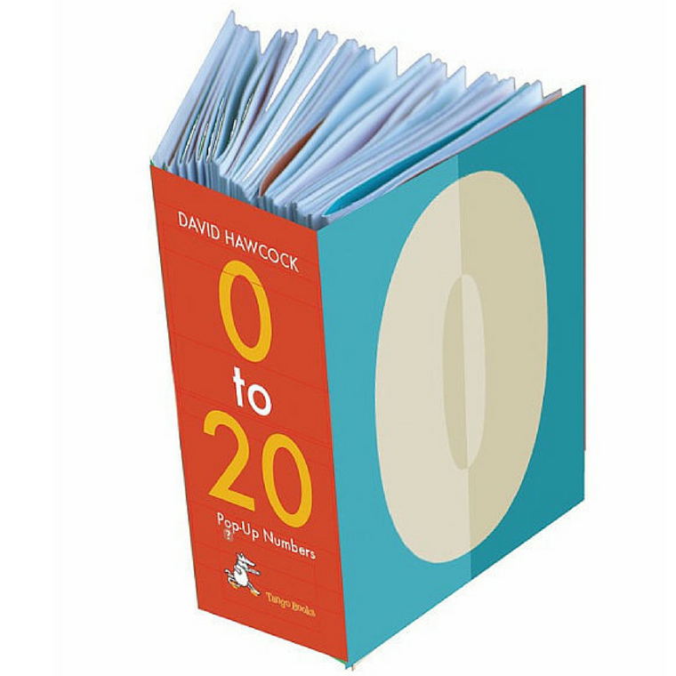 o to 20 Pop Up Counting Book by David Hawcock