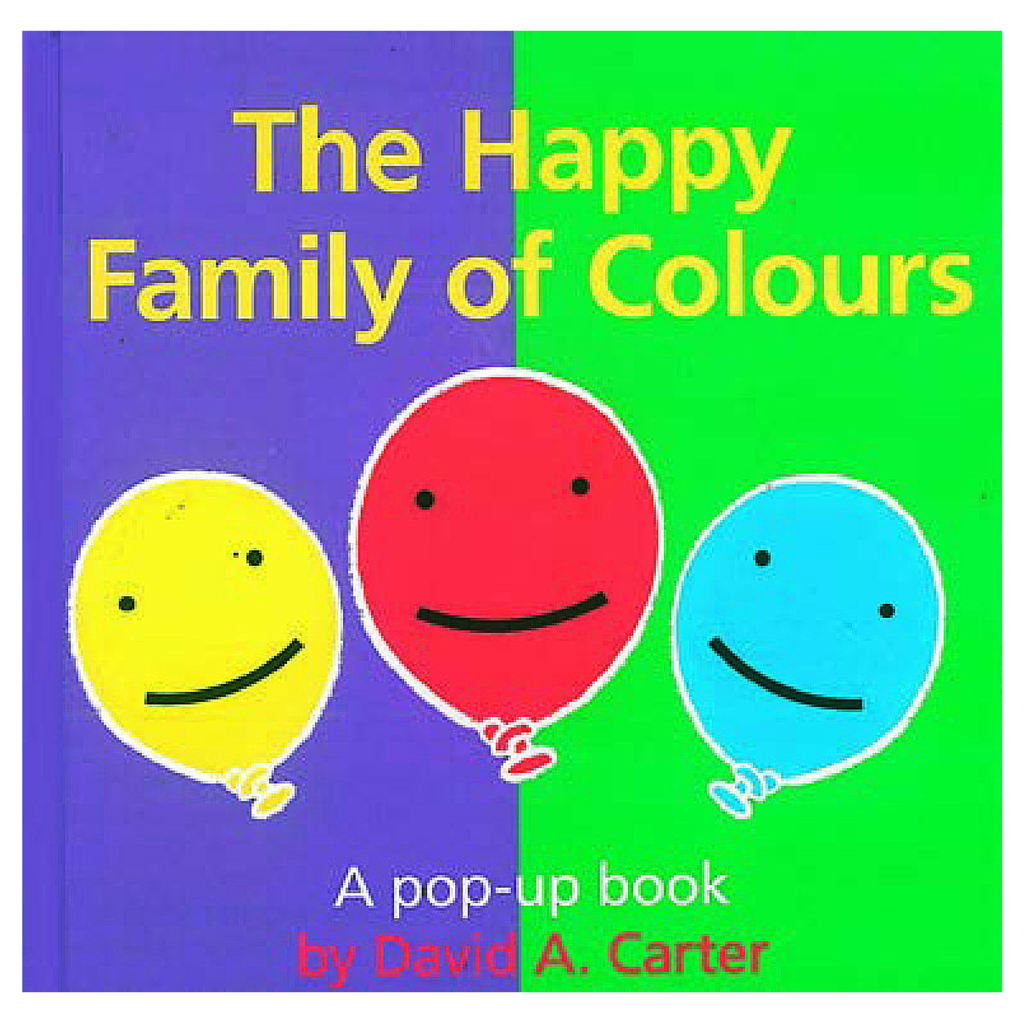 The Happy Family of Colours by David A Carter