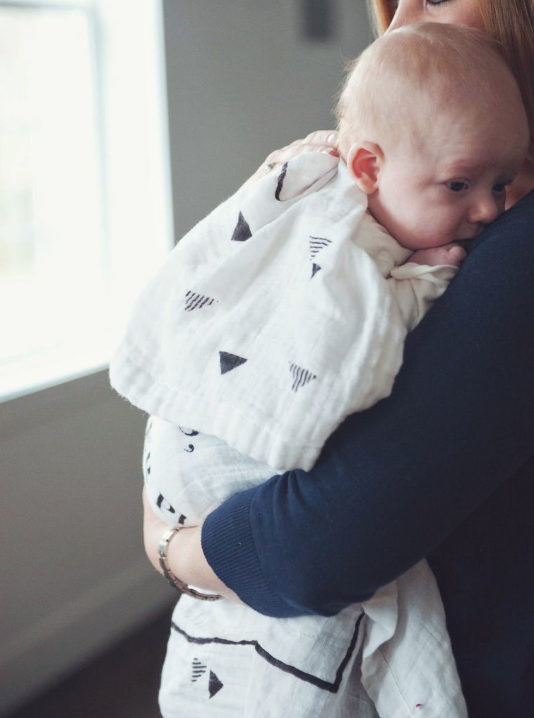 Coveted Things 'Happiness' Organic Swaddle Scarf