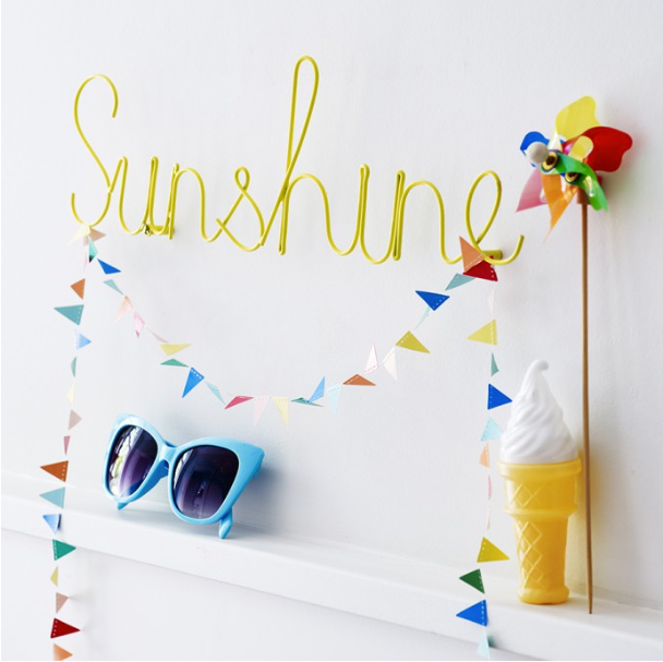 Sunshine - Word Art