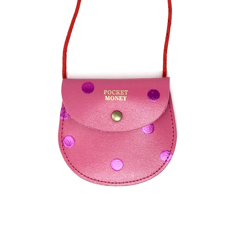 Pocket Money Purse - Spots