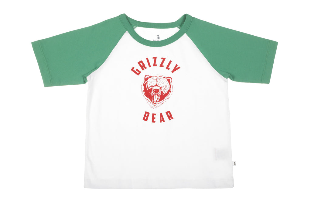 BearGood Grizzly Bear Organic Children's T-Shirt