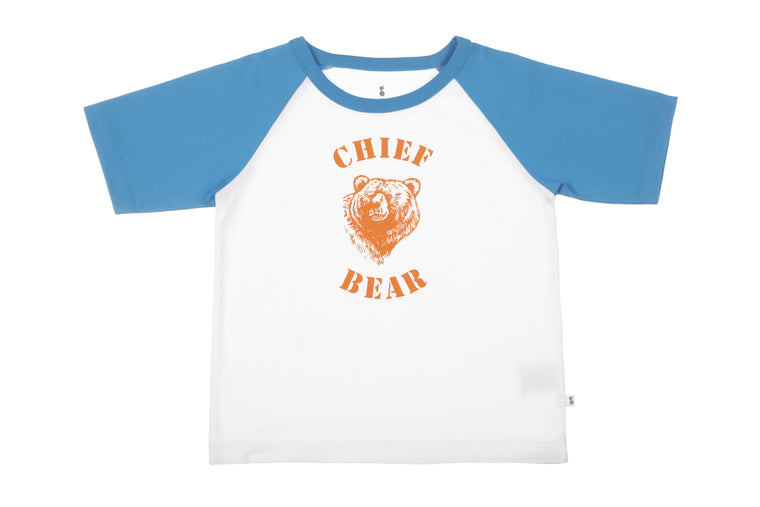 BearGood Chief Bear Organic Children's T-Shirt