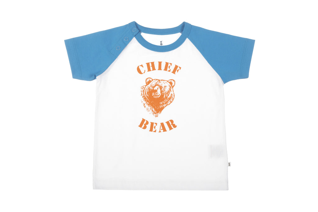 Chief Bear Short Sleeve Organic T-Shirt
