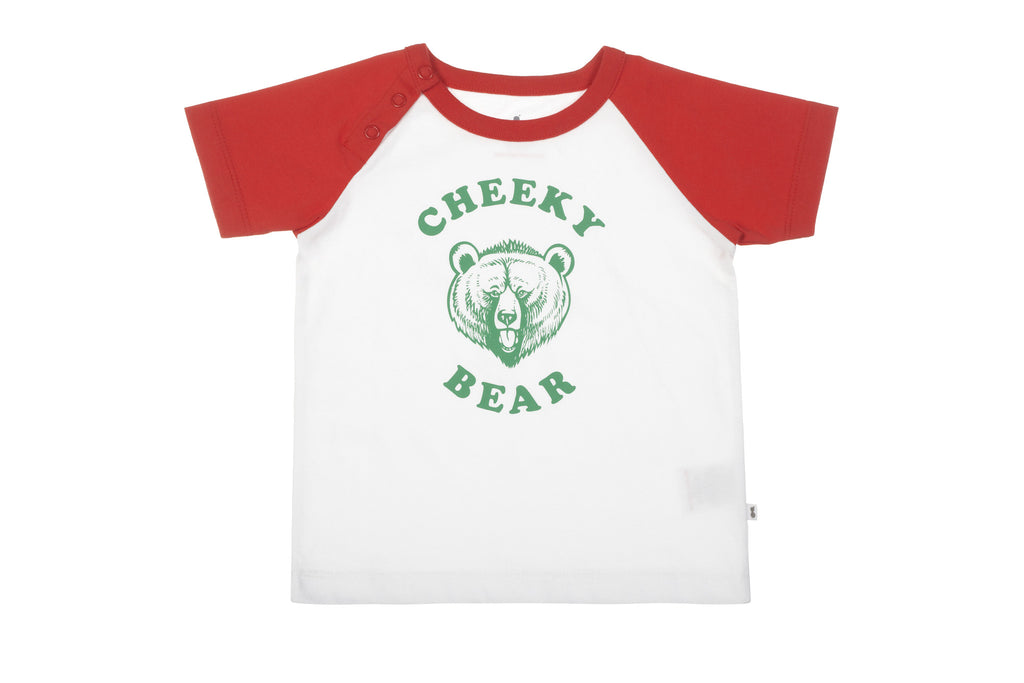 Cheeky Bear Organic T-Shirt