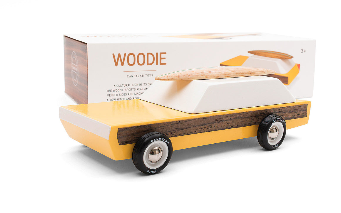 Candylab Toys - Woodie Car