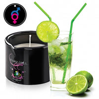 Bougie de Massage Gourmande-Mojito-MADE IN FRANCE - KIMBOXLOV