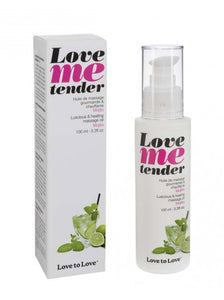 Huile De Massage Love Me Tender Mojito 100 ml - KIMBOXLOV