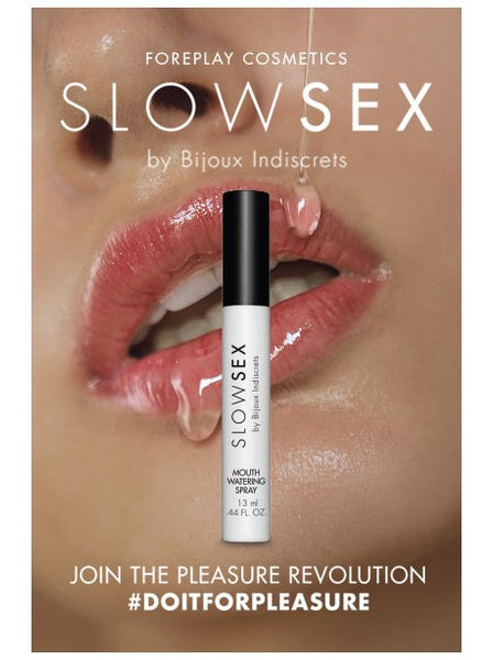 Spray Activateur De Salive Bijoux Indiscret Slow Sex - KIMBOXLOV