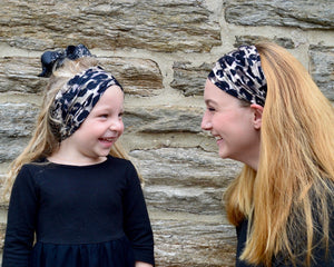 Leopard Face Cover/Headband