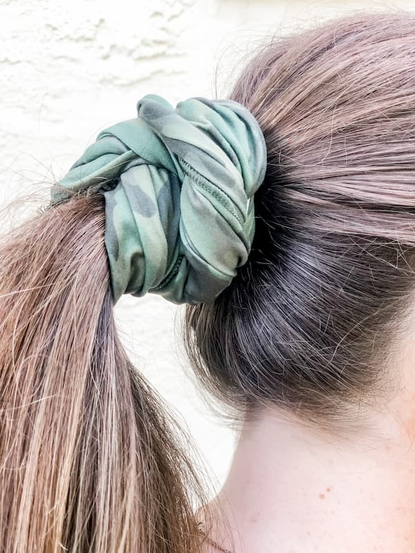 Olive Camo Face Cover/Headband