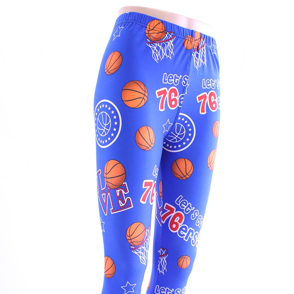 Philadelphia Basketball Leggings