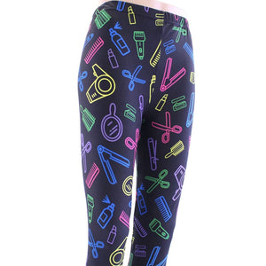 Sassy stylist pattern leggings for women