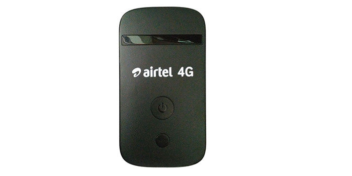 Airtel Wifi 4G Dongle - with Power Bank