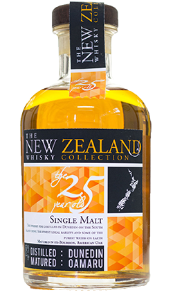 The NZ Whisky Collection 25YO
