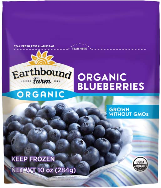 Earthbound Farm Organic Blueberries 10 oz