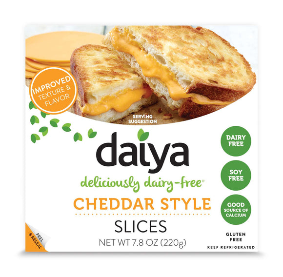 Daiya Vegan Sliced Cheddar Cheese