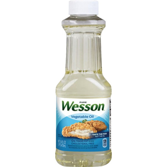 Wesson Vegetable Oil 16 oz
