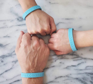 The #VACCINATE Bracelet