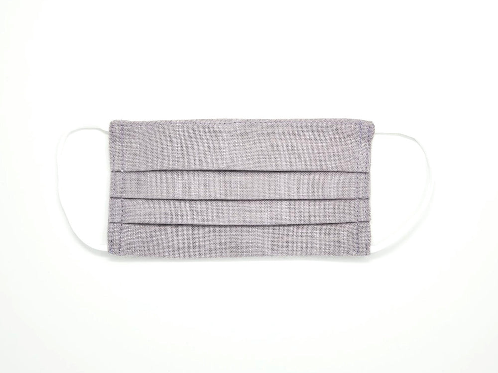 "The ""Lilac"" - Limited Edition Pleated Linen Series"