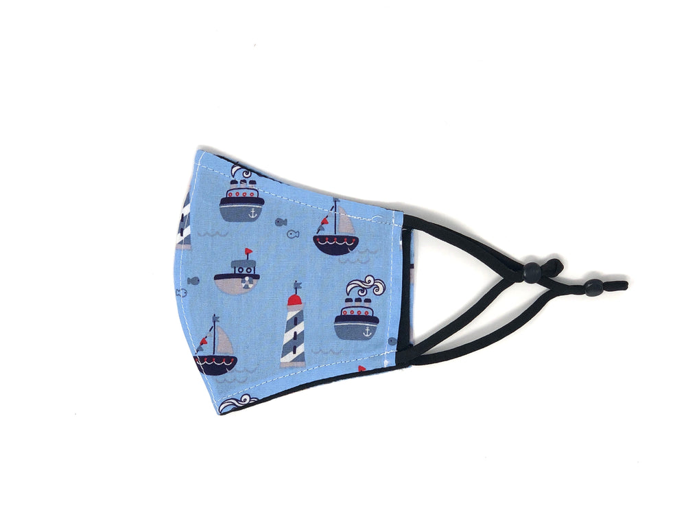 "The ""Sailor"" - Kids Reversible Mask"