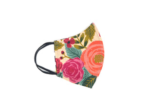 "The ""Shea"" - Limited Edition Reversible Linen Floral Series"