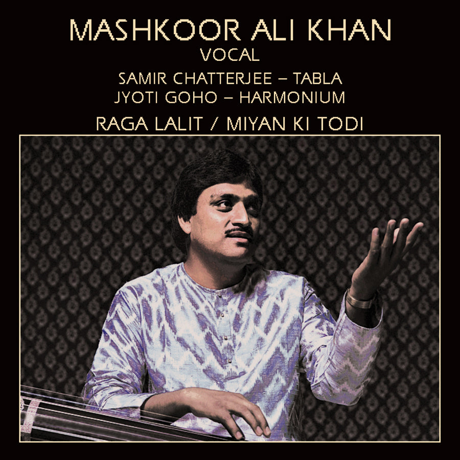 MASHKOOR ALI KHAN - VOCAL