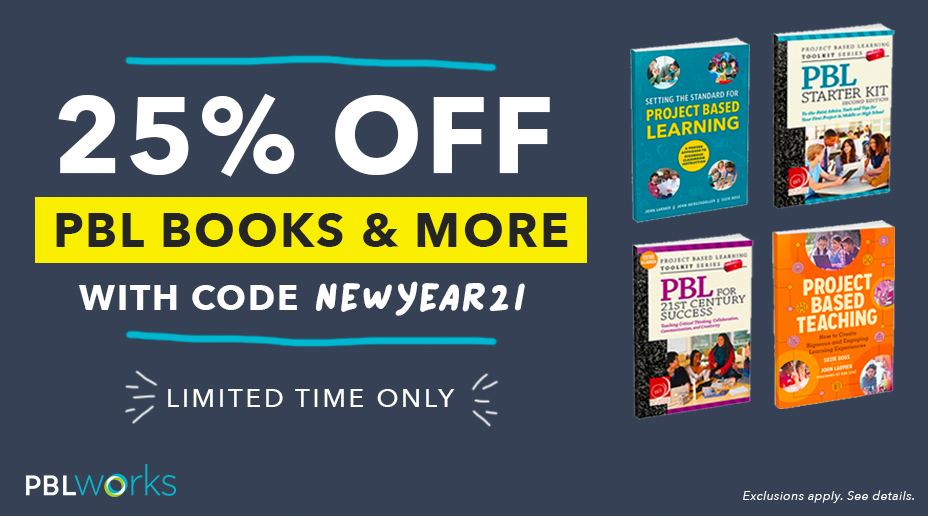 25% OFF PBL Books & More - with code NEWYEAR21 – limited time only