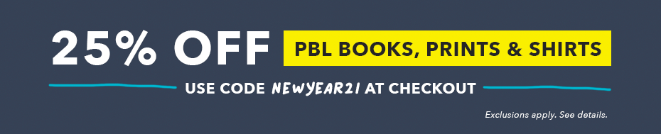 25% off PBL Books & More with code NEWYEAR21 - restrictions apply. see details.