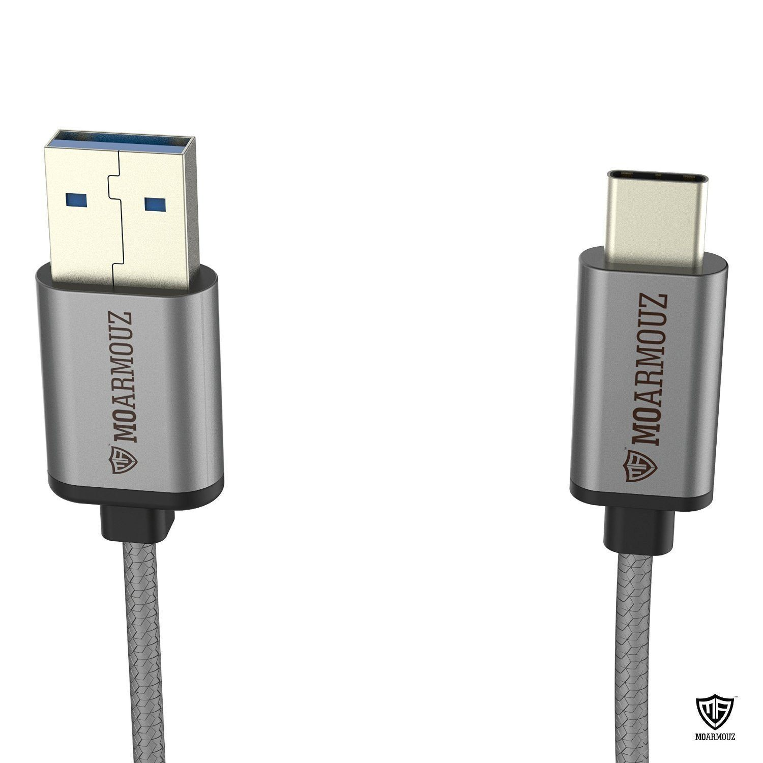 "MoArmouz USB Type C - USB 3.0 Braided Cable is your new ""must have"""