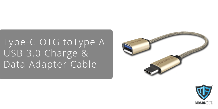 Check the USB 3.0 charge & data adapter cable from MoArmouz!