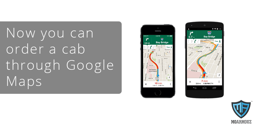Google Maps next update will allow you to order an Uber from within the app!