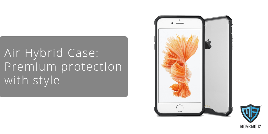 Air Hybrid Case: Premium protection with style