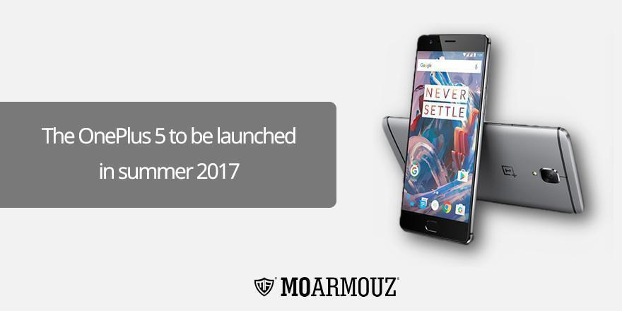 The OnePlus 5 to be launched in summer 2017
