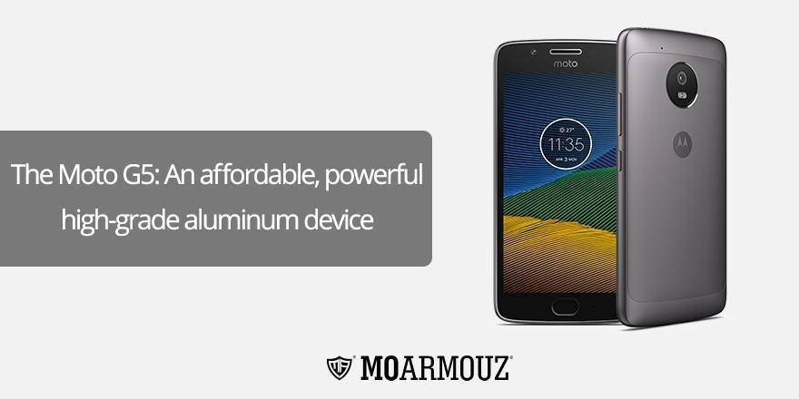 The Moto G5: An affordable, robust high-grade aluminum device