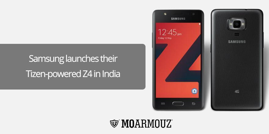 Samsung launches their Tizen-powered Z4 in India